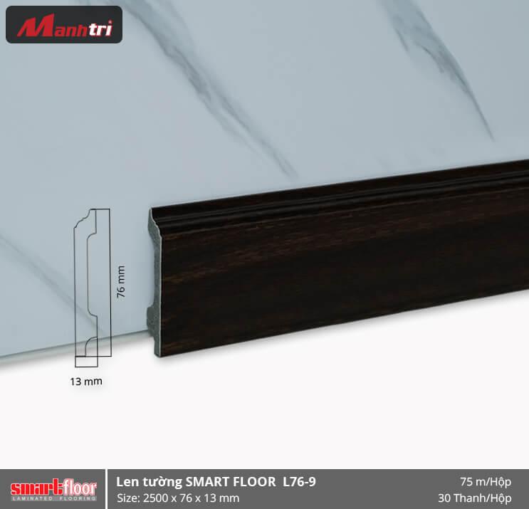 Len chân tường nhựa giả gỗ L76-9