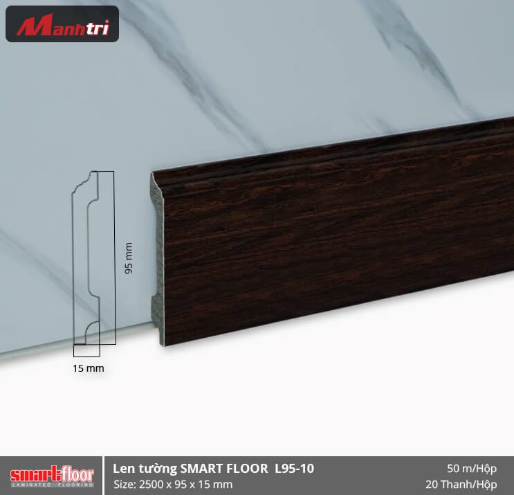 Len chân tường nhựa giả gỗ L95-10