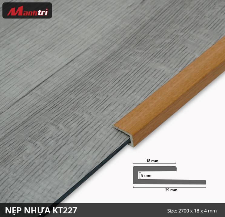 Nẹp Kết Thúc KT227-4mm
