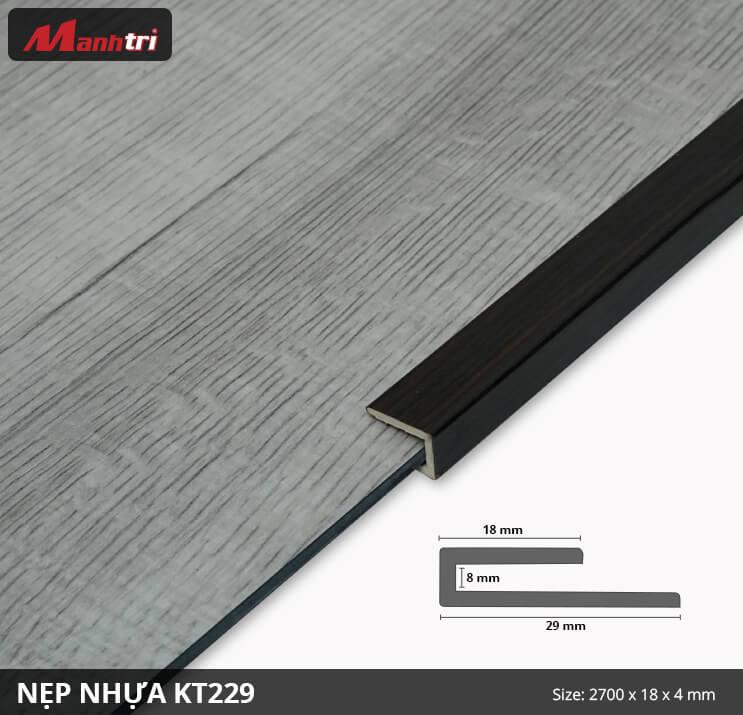 Nẹp Kết Thúc KT229-4mm