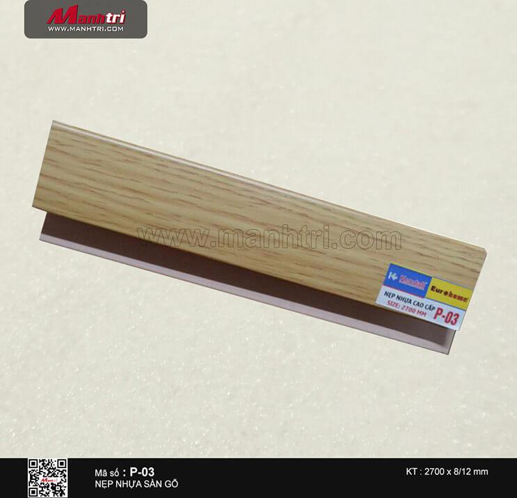 Nẹp nhựa cao cấp P-03