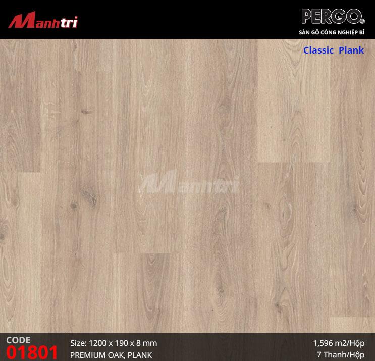Sàn gỗ Pergo Classic Plank - 01801