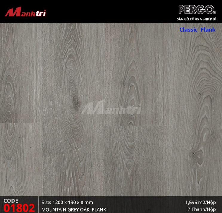 Sàn gỗ Pergo Classic Plank - 01802