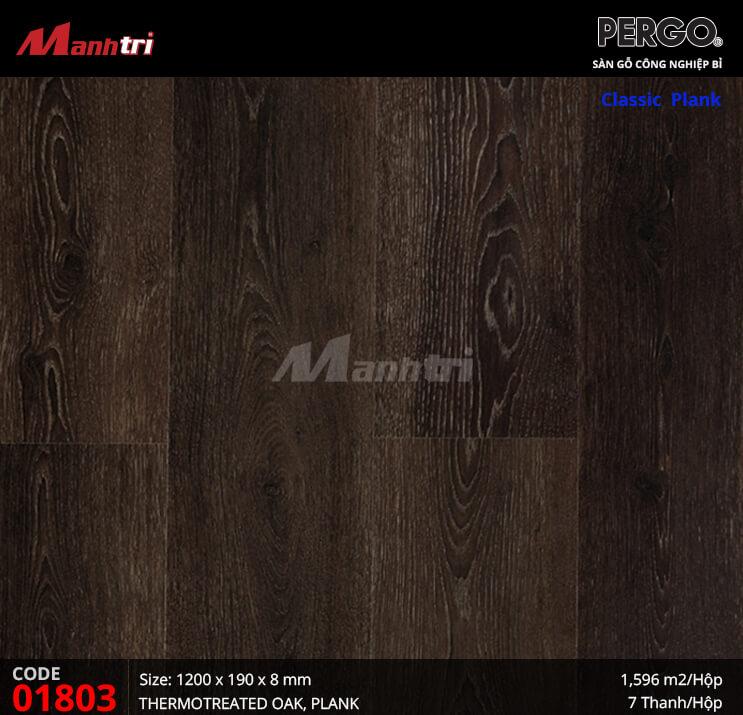 Sàn gỗ Pergo Classic Plank - 01803