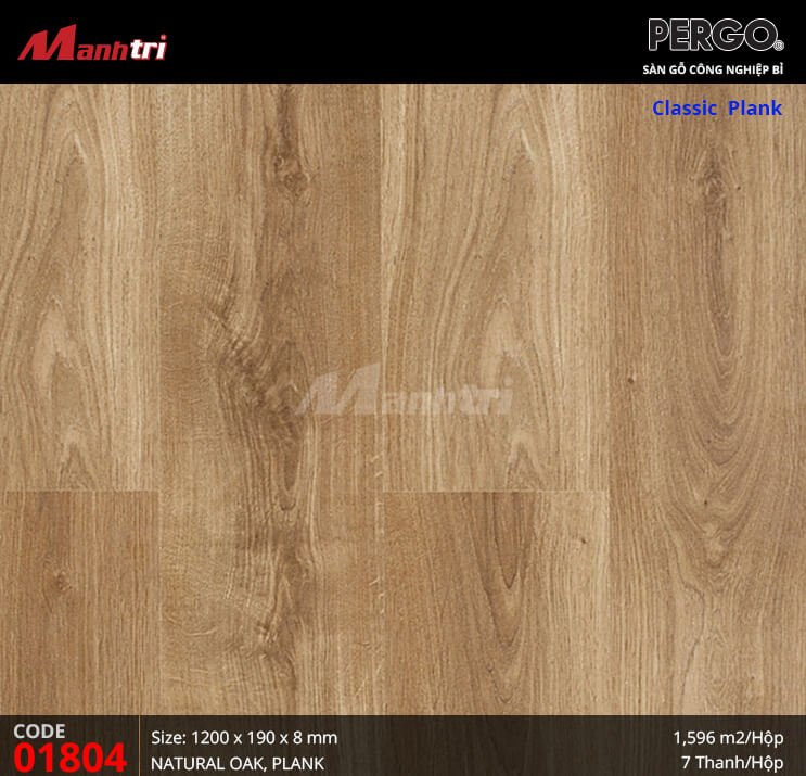 Sàn gỗ Pergo Classic Plank - 01804