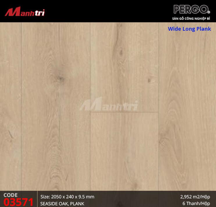 Sàn gỗ Pergo Wide Long Plank - 03571