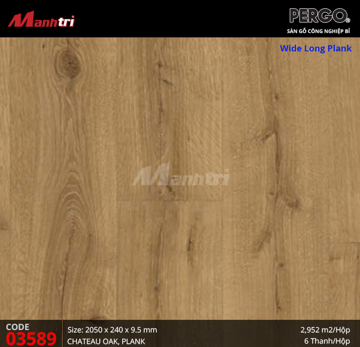 Sàn gỗ Pergo Wide Long Plank - 03589