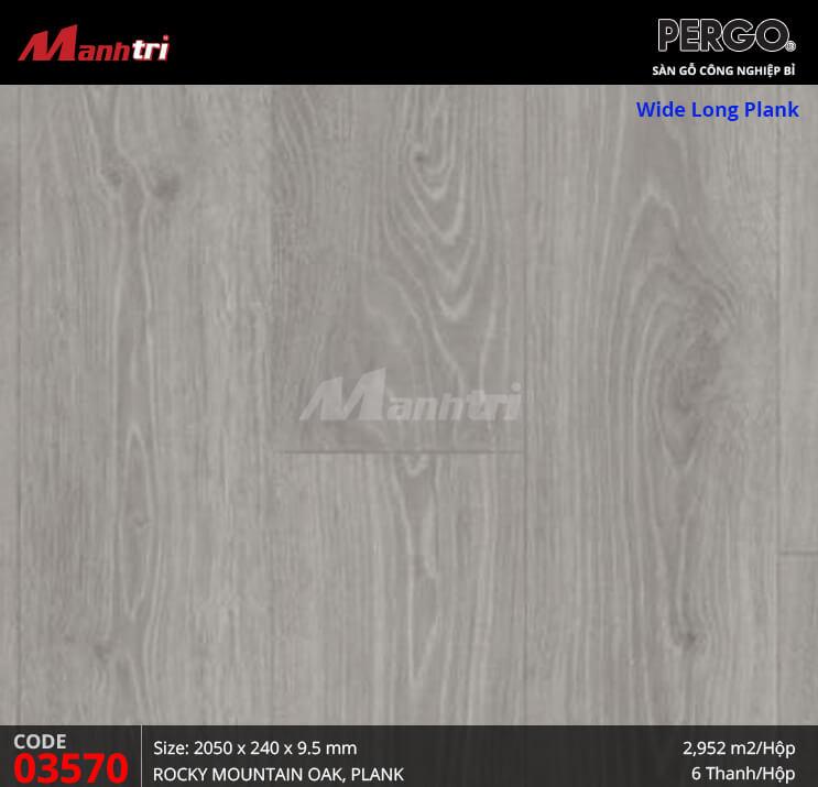 Sàn gỗ Pergo Wide Long Plank - 03570