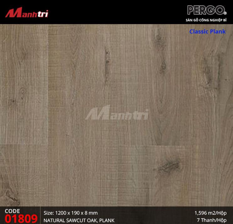 Sàn gỗ Pergo Classic Plank - 01809