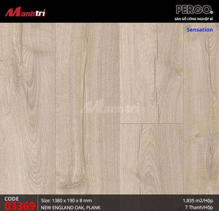 Sàn gỗ Pergo Sensation - 03369