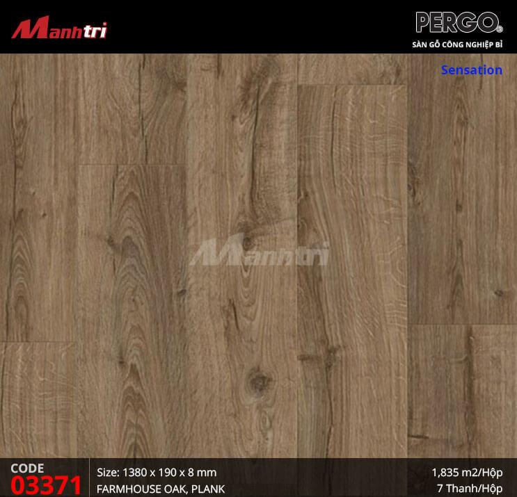 Sàn gỗ Pergo Sensation - 03371