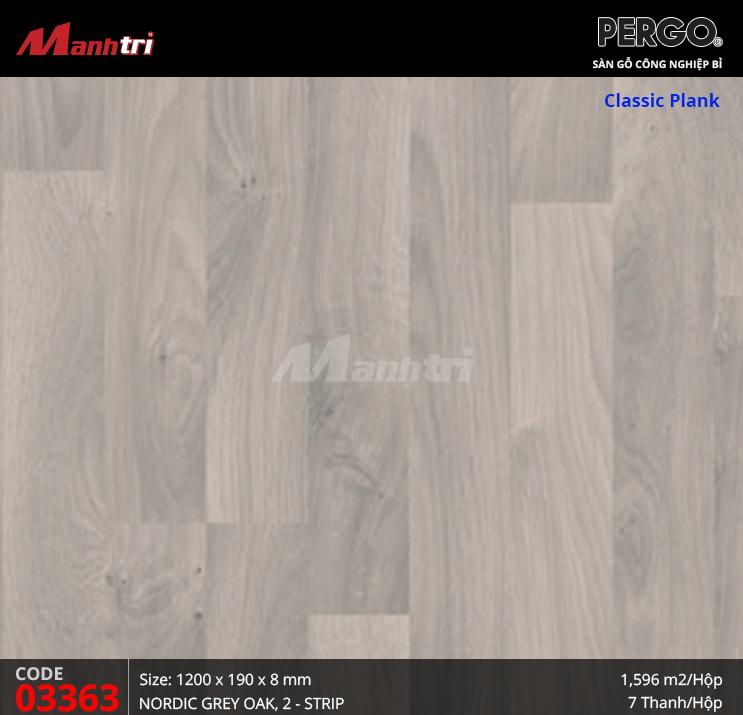 Sàn gỗ Pergo Classic Plank - 03363