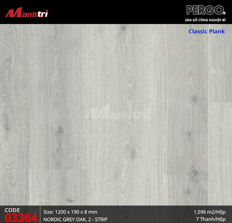 Sàn gỗ Pergo Classic Plank - 03364