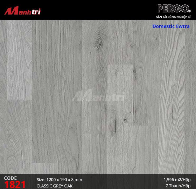 Sàn gỗ Pergo Domestic Extra - 1821