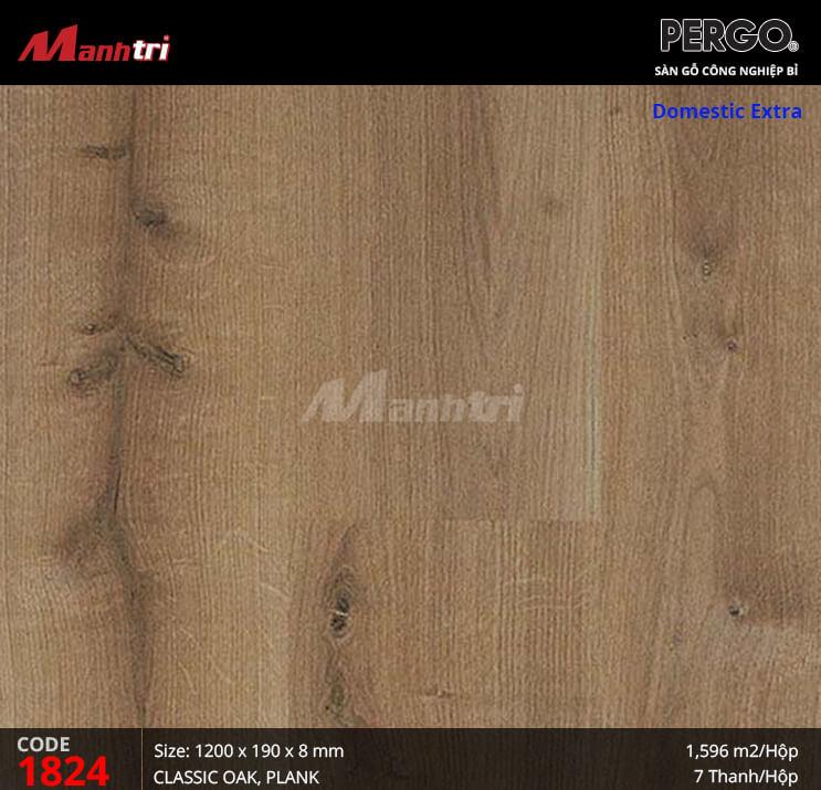 Sàn gỗ Pergo Domestic Extra - 01824