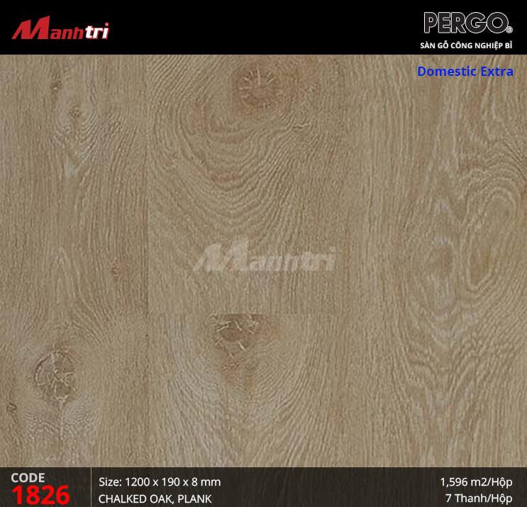 Sàn gỗ Pergo Domestic Extra - 01826