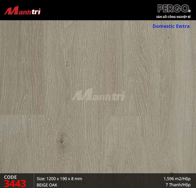 Sàn gỗ Pergo Domestic Extra - 3443