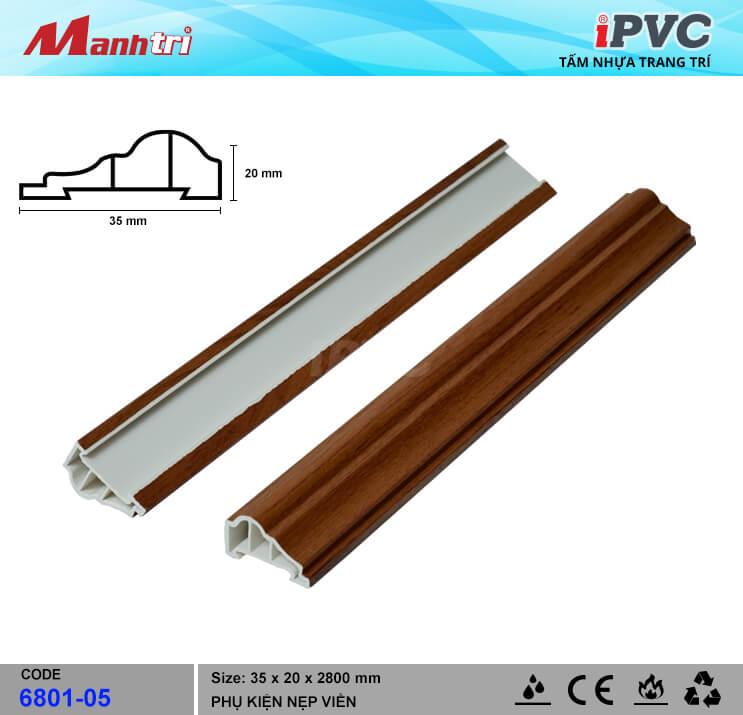 Nẹp Viền iPVC 6801-05