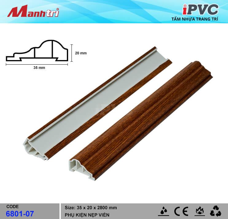 Nẹp Viền iPVC 6801-07
