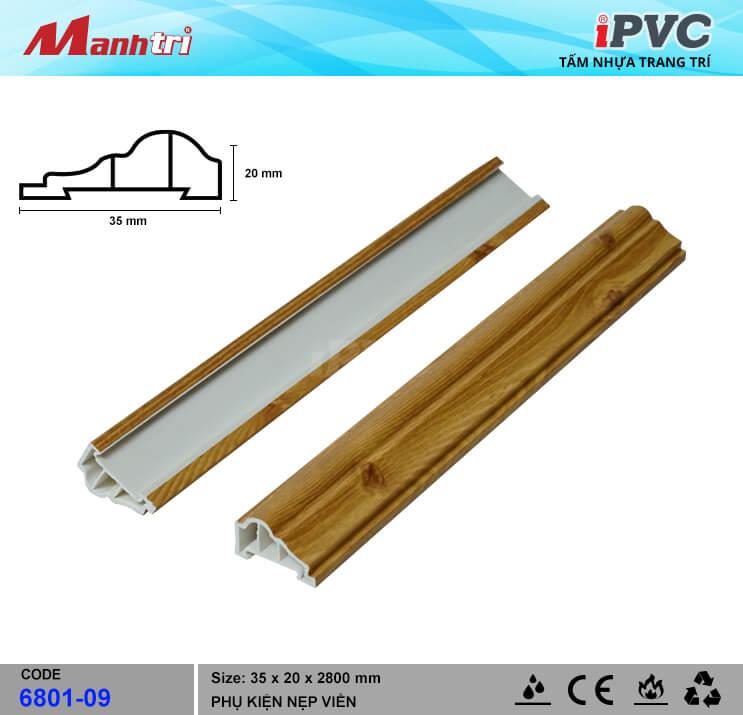 Nẹp viền iPVC 6801-09