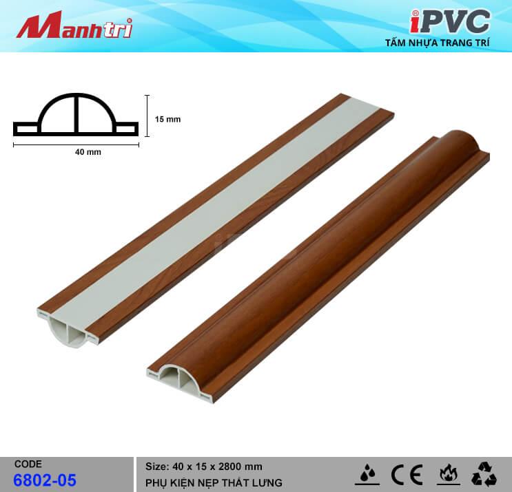 Nẹp Thắt Lưng 40mm iPVC 6802-05
