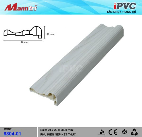 Nẹp Kết Thúc IPVC 6804-01