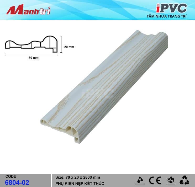 Nẹp Kết Thúc IPVC 6804-02