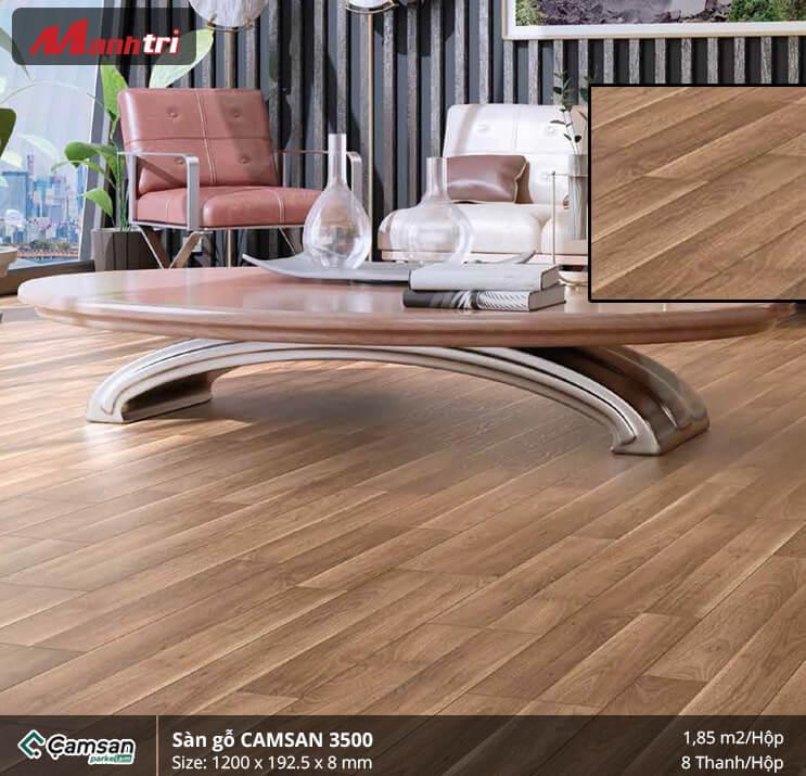 Sàn gỗ Camsan 3500