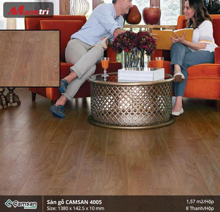 Sàn gỗ Camsan 4005