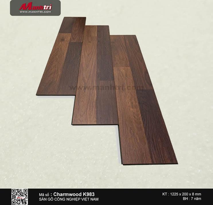 Sàn gỗ công nghiệp Charm Wood K983