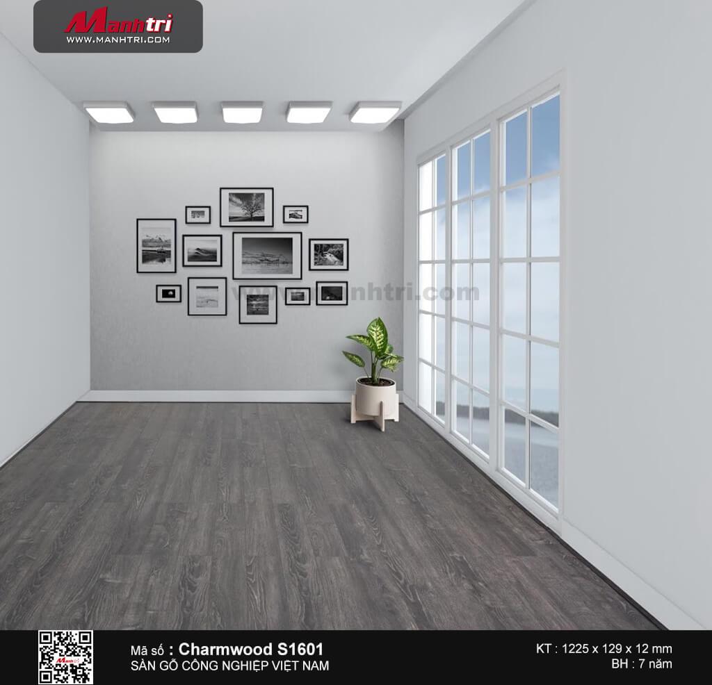 Sàn gỗ công nghiệp Charm Wood S1601