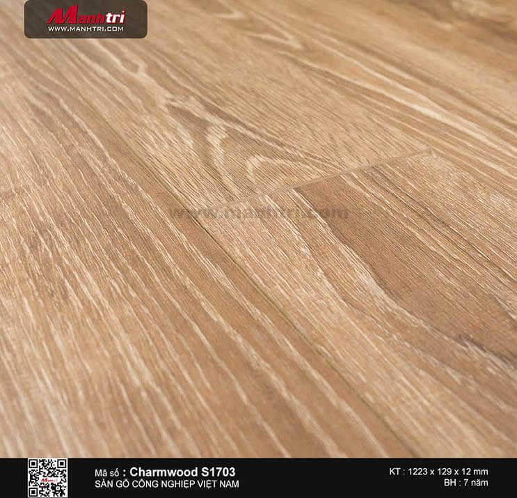 Sàn gỗ công nghiệp Charm Wood S1703
