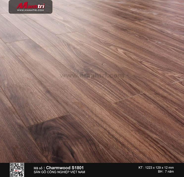 Sàn gỗ công nghiệp Charm Wood S1801