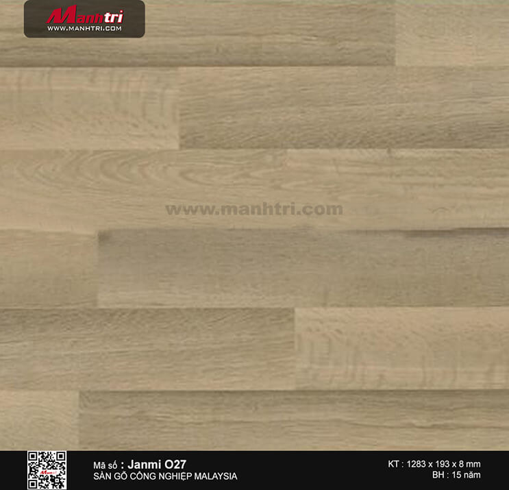 Sàn gỗ Janmi O27