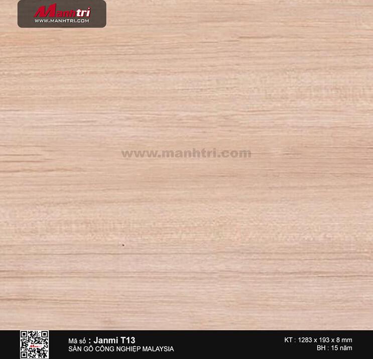 Sàn gỗ Janmi T13