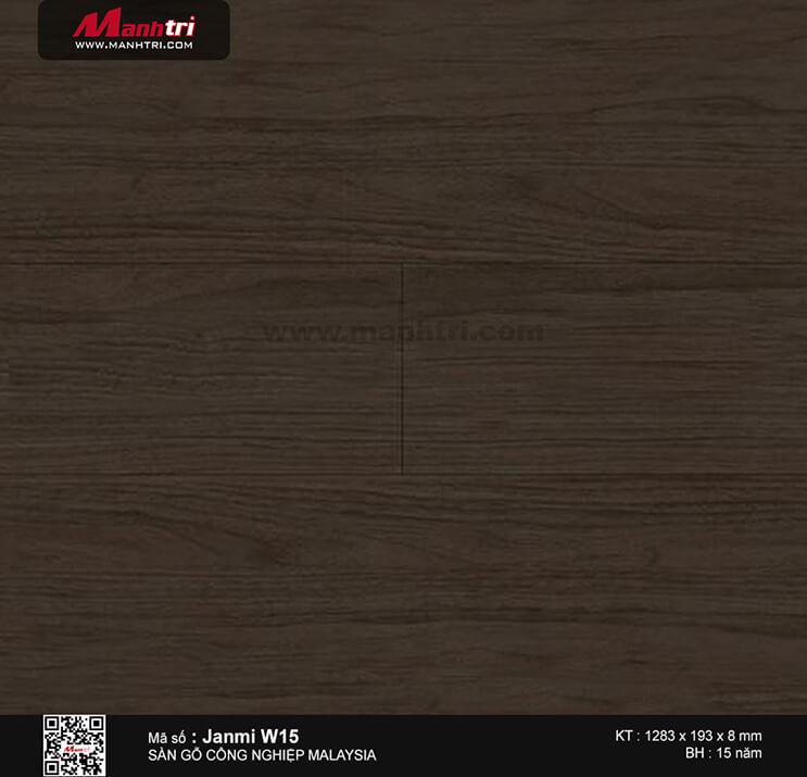 Sàn gỗ Janmi W15