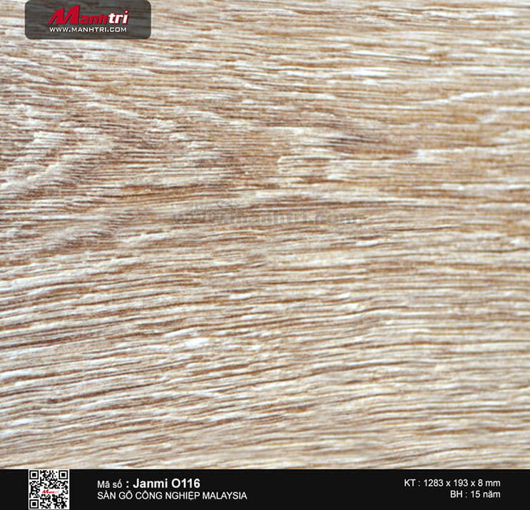 Sàn gỗ Janmi O116 - 8mm