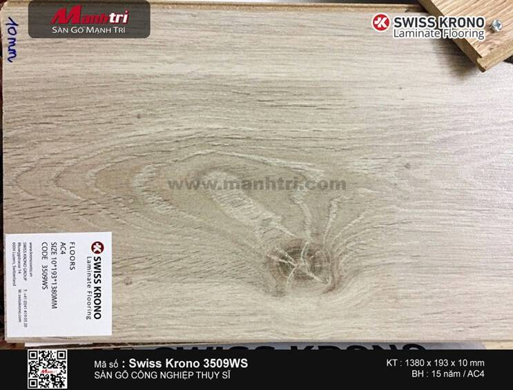 Sàn gỗ Swiss Krono 3509WS