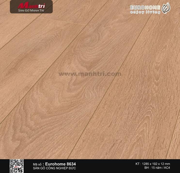 Sàn gỗ Eurohome 8634LP