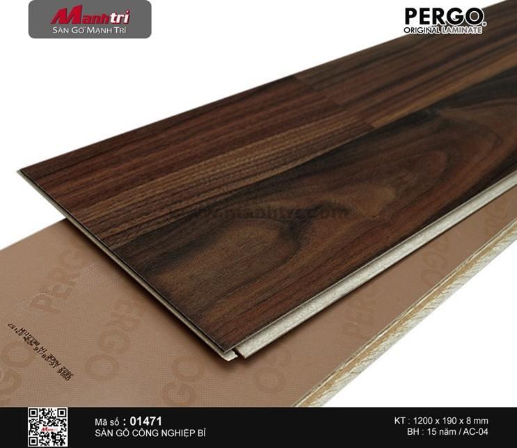 Sàn gỗ Pergo Classic Plank - 01471