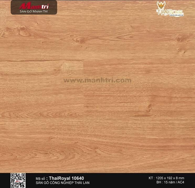 Sàn gỗ ThaiRoyal 10640