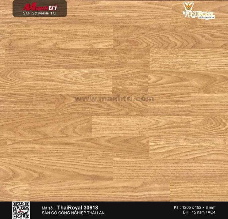 Sàn gỗ ThaiRoyal 30618