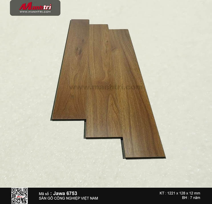 Sàn gỗ công nghiệp Jawa 6753