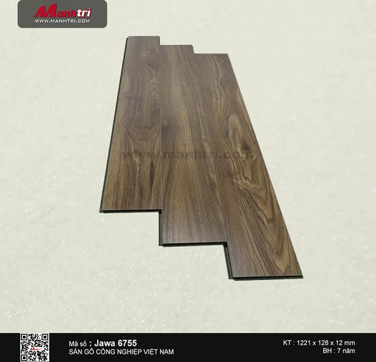 Sàn gỗ công nghiệp Jawa 6755