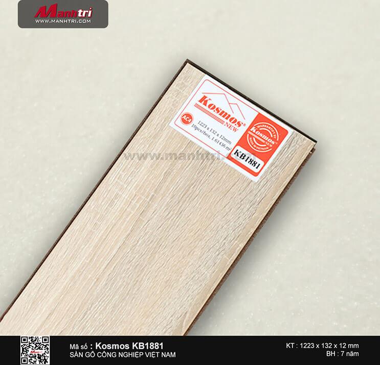 Sàn gỗ công nghiệp Kosmos KB1881