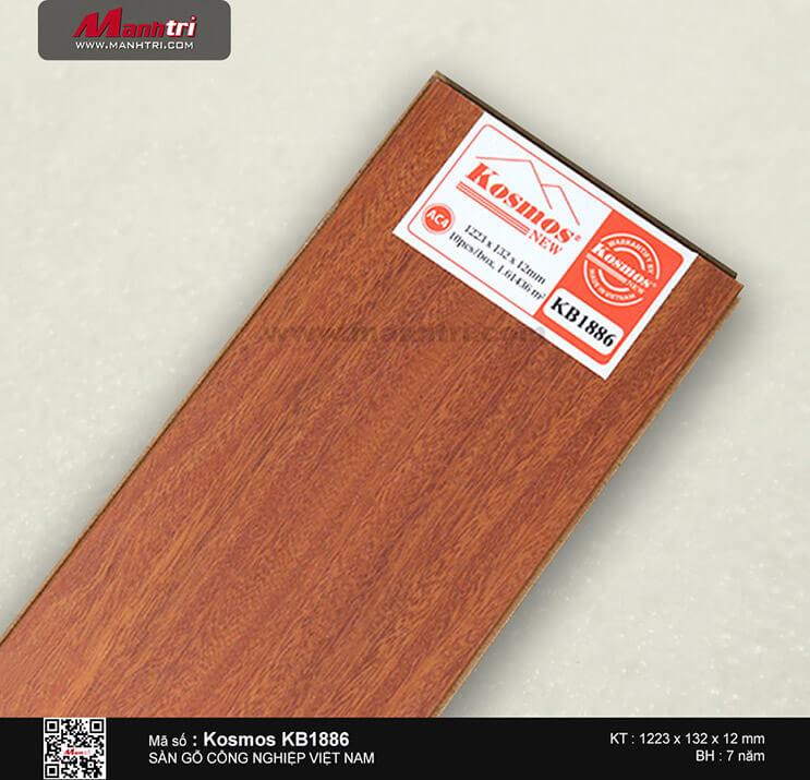 Sàn gỗ công nghiệp Kosmos KB1886