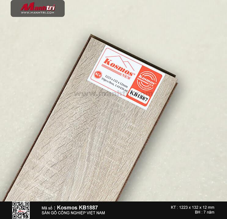 Sàn gỗ công nghiệp Kosmos KB1887