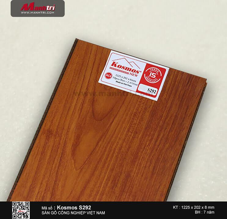 Sàn gỗ công nghiệp Kosmos S292