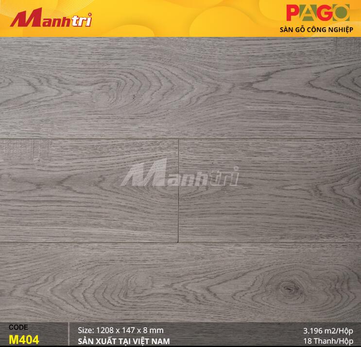 Sàn gỗ Pago M404