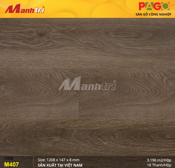 Sàn gỗ Pago M407